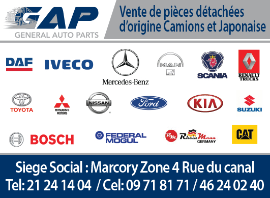 General Auto Parts >> General Auto Parts Gap Cote D Ivoire Specialisee Dans La